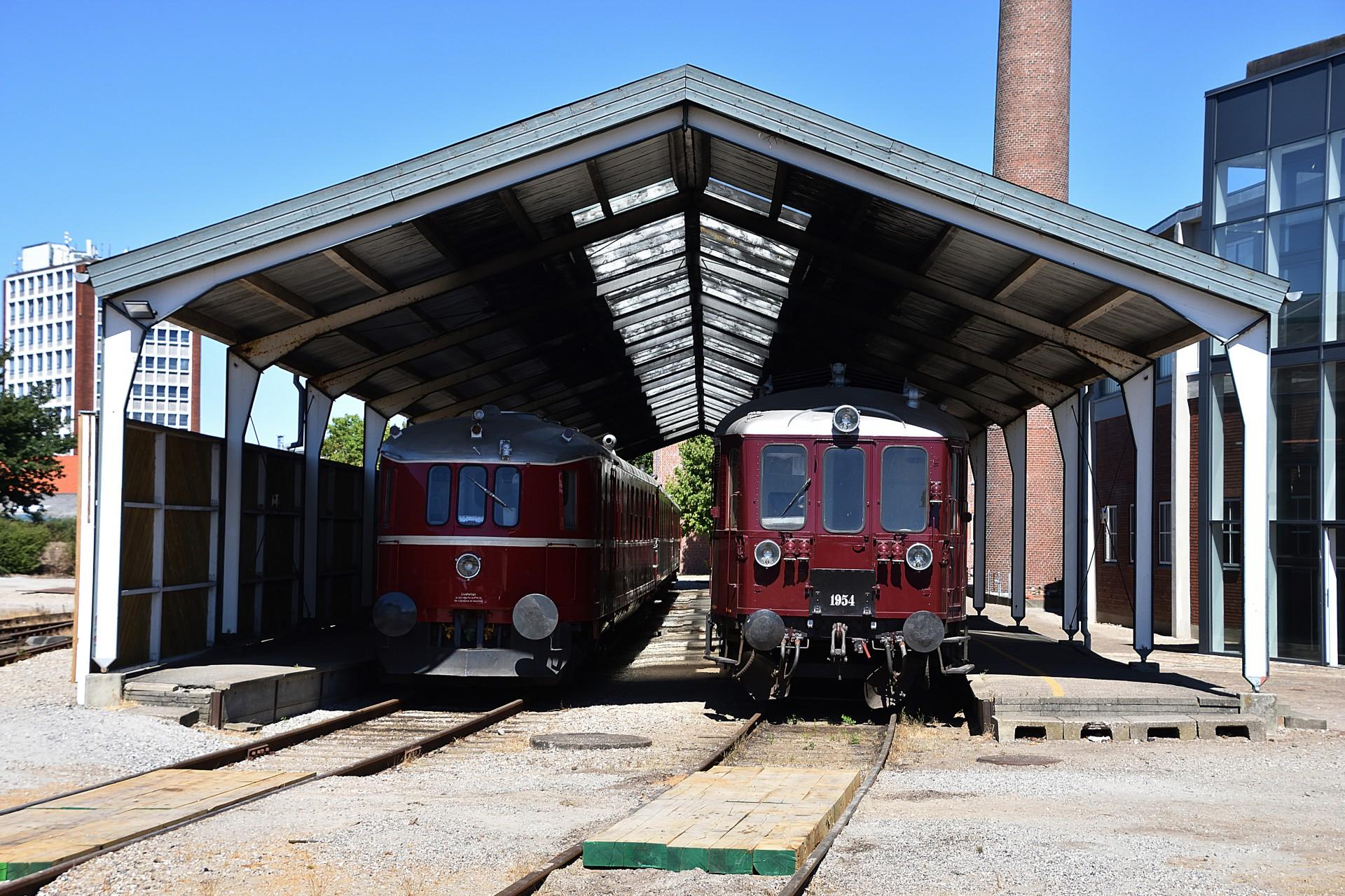 Sommerkørsel Med Mo 1846 Danmarks Jernbanemuseum Simontogdk